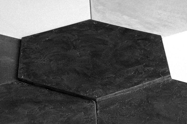 Panel ścienny tynkowany Paneletto - Hexa Stone 01