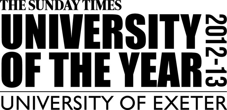 Exeter - University of the year 202 - 2013.... Nuff said. :)