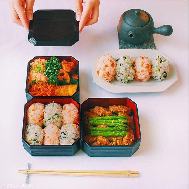 お弁当を品よく格上げ♡手を汚さない極上おむすびの作り方 - Locari(ロカリ)