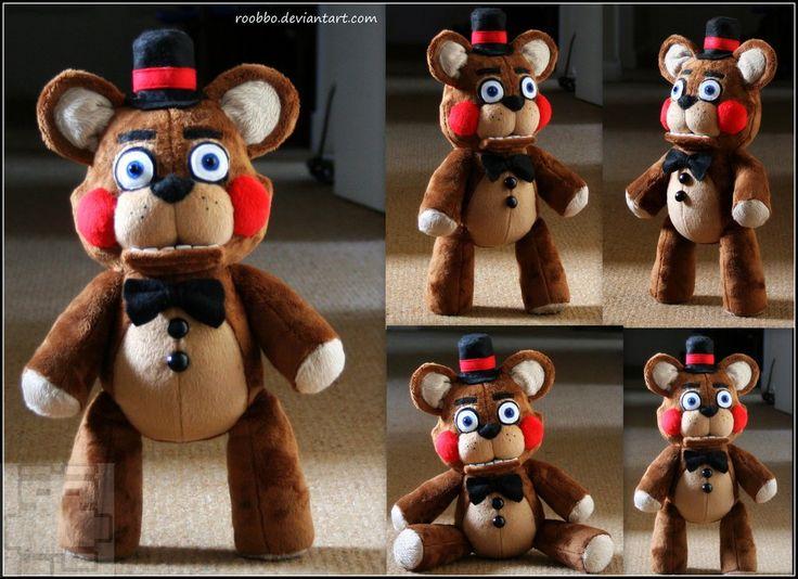 Five Nights At Freddy's - Toy Freddy - Plush by roobbo.deviantart.com on @DeviantArt