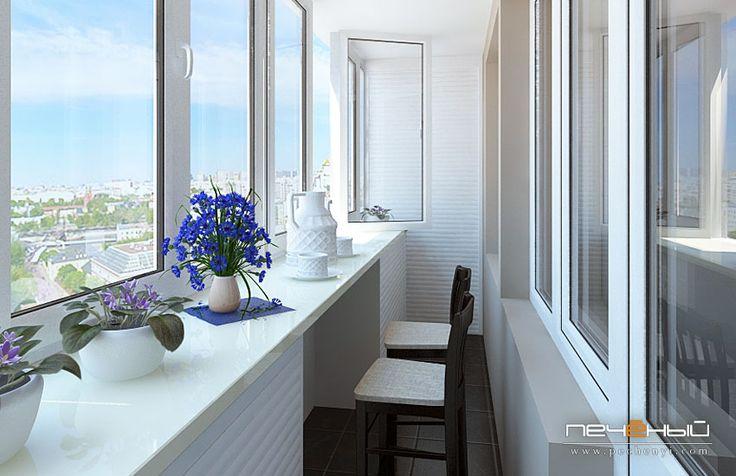 балкон, дизайн балкона, дизайн гостиной, интерьер гостиной, современная гостиная, светлый цвет гостиной, элементы лофта, современная гостиная с элементами лофта, студия Антона Печеного, студия дизайна интерьера Антона Печёного
