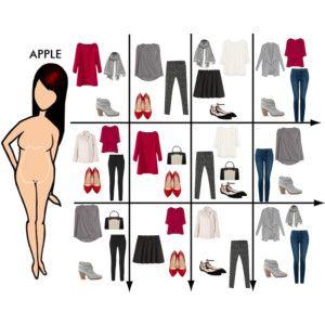 15 Item Capsule Wardrobe for Apple Shape