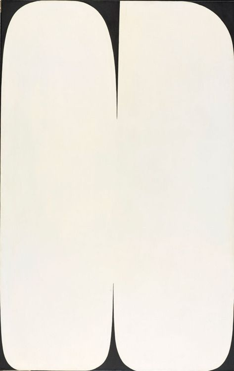 kakaji:  One of my favorites: Pole (1957), created by contemporary artist Ellsworth Kelly. His work bridges Abstract Expressionism, Minimalism, & Color Field painting. What I admire most is his use of cropping, creating dynamic compositions with so few elements. (Source: RISD Museum)