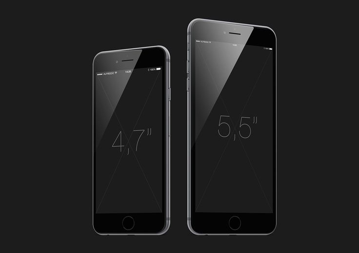 Alfreedo and Stefano Marvulli have prepared for you a mockup of the new iPhone 6 and iPhone 6 Plus in each color variant, Silver, Gold and Space Gray. Subscribe and download these great free vector elements! Iphone 6, Iphone 6 plus, Mockup, Free, Dow