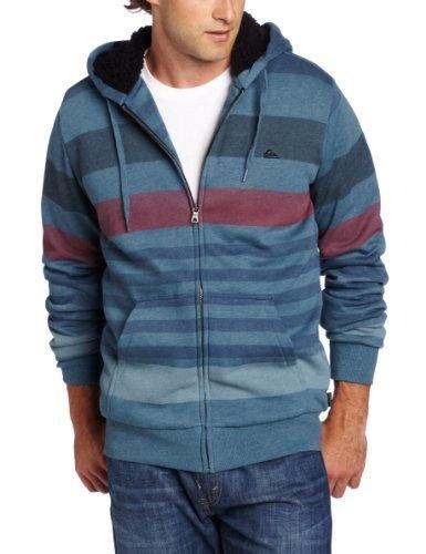 Quiksilver Men's Meeker Hoodie Sweater, Deep Sea Blue, Medium ...
