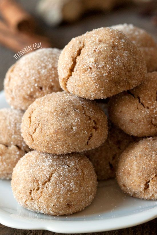 These grain-free chai spiced cookies are soft and chewy as well as gluten-free and dairy-free!