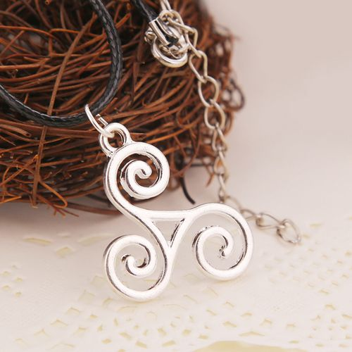 Teen Wolf Spiral Necklace