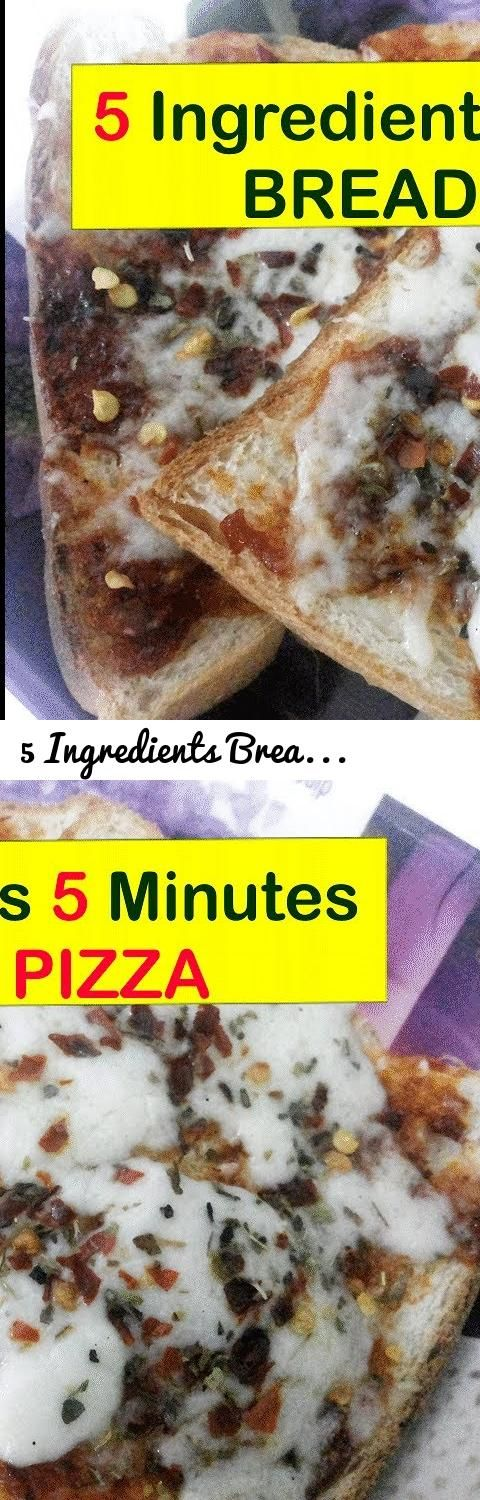 5 Ingredients Bread Pizza Recipe In 5 Minutes | Instant Bread Pizza... Tags: how to make, Instant Bread Pizza, Bread Pizza, pizza with bread, quick cheesy pizza, bread recipe, quick pizza recipe, kids recipes, homemade pizza, cheese pizza with bread, bread pizza nishamadhulika, how to make bread pizza, 5 ingredients recipes, 5 minute pizza recipe, 5 minute pizza recipe