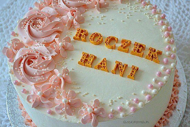 Tort Dla Dziewczynki Na Roczek Tort Kokosowy Z Malinami Tort Rafaello Cake