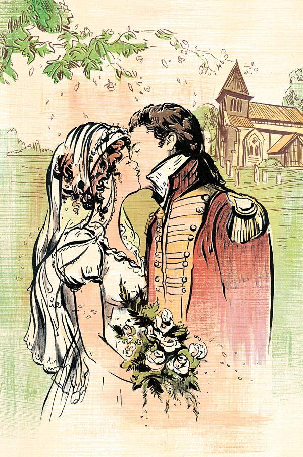 JANE AUSTEN - Emma - illustration by Jacqui Oakley