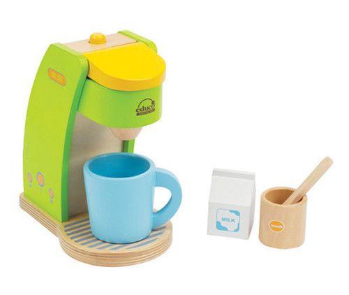 Details Zu Hape Kaffeemaschine Holz Küche Küchenzubehör Kaufladen  Kinderküche 6teilig