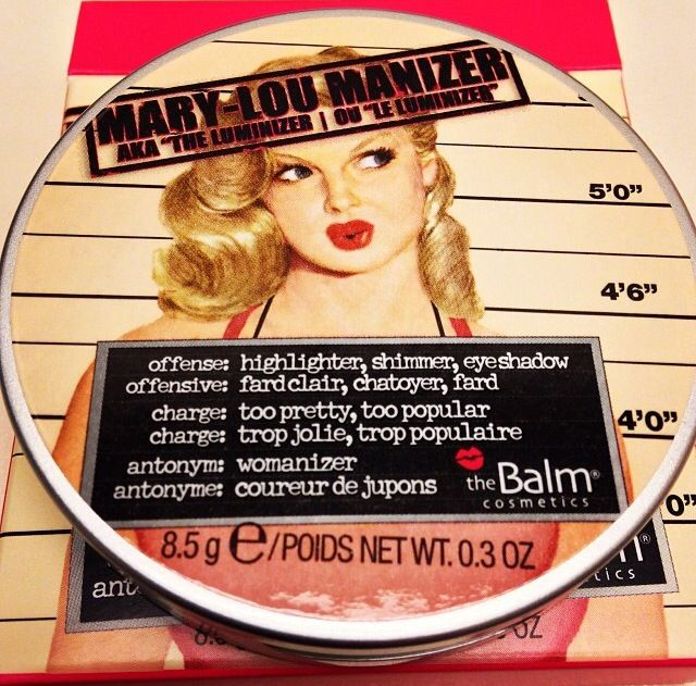 Loving the Mary-Lou Manizer from The Balm! Can't wait to use it in our tutorials!