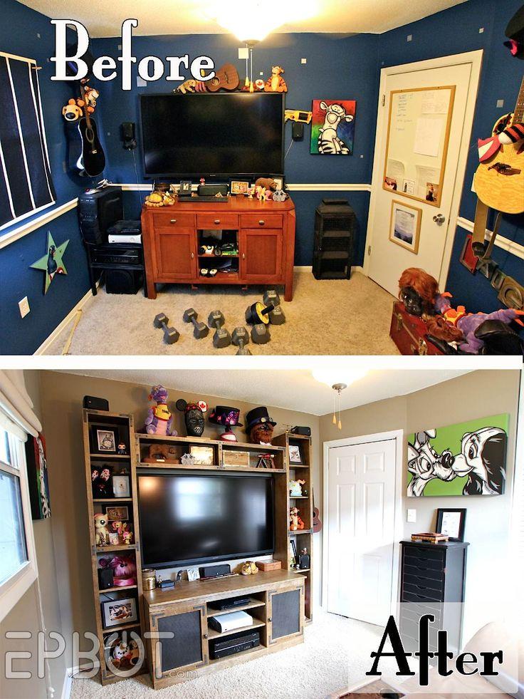 EPBOT: BIG REVEAL: John's Game Room Makeover!