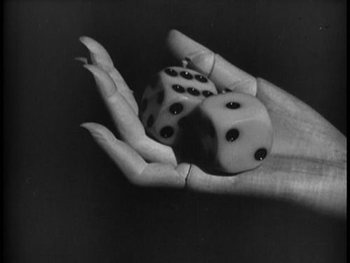 from Man Ray's Les Mystères du Château de Dé a.k.a.The Mysteries of the Chateau of Dice,1929