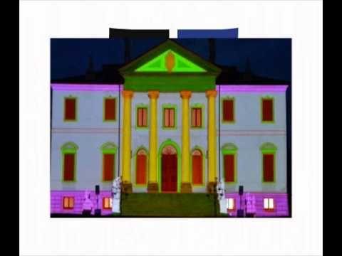Convention e cena aziendale Sonus Faber, Villa Cordellina (Montecchio Maggiore). Progetto video e proiezioni Studio zero in collaborazione con Tondello Tecnologie