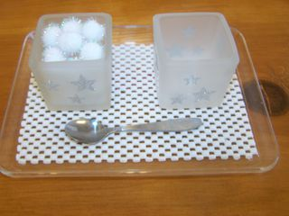 Montessori practical life activities and other snow theme ideas
