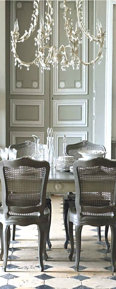 French Flair Dining Room Louise May Heath Owner And Operator Of LuxTouch Vintage