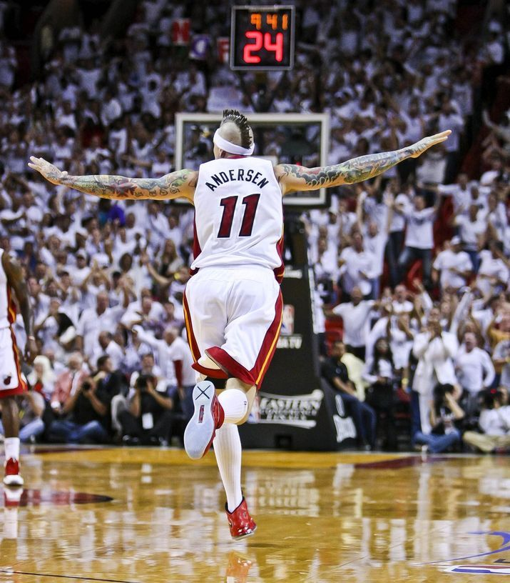 Miami Heat's Chris... #Miami #Heat #basketball