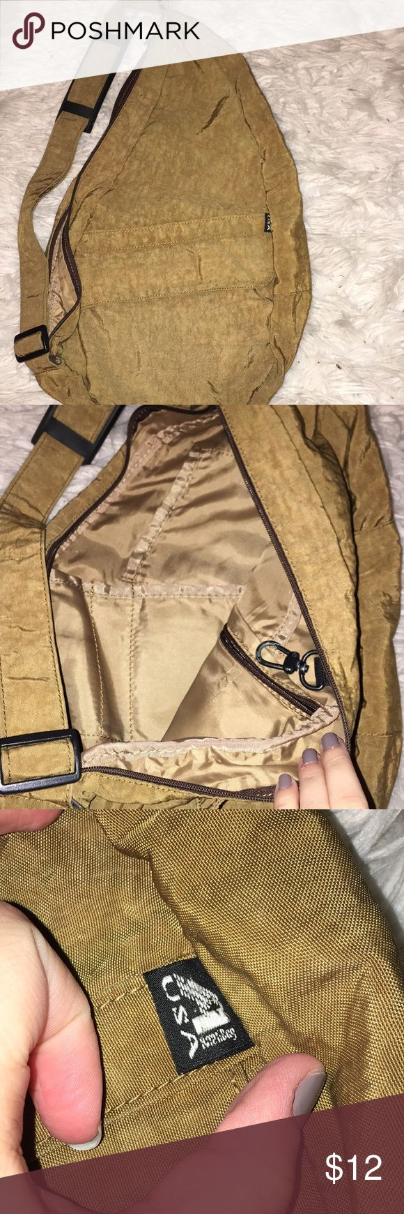 USA sling bag Sling bag like a Kavu (vintage) no flaws super cute can hold tons of stuff Used a few times  No flaws Smoke free home Urban Outfitters Bags Crossbody Bags