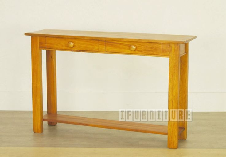 RAKIURA Solid Rimu 2 Drawer Hall Table , Living Room, NZ's Largest Furniture Range with Guaranteed Lowest Prices: Bedroom Furniture, Sofa, Couch, Lounge suite, Dining Table and Chairs, Office, Commercial & Hospitality Furniturte