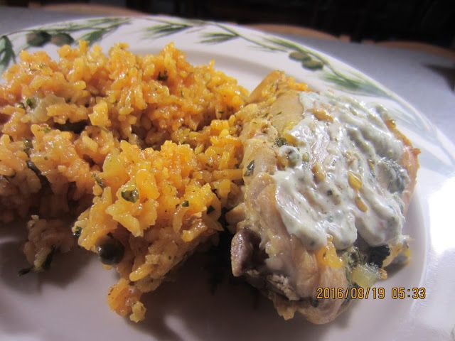 Arroz con Pollo from Puerto Rico (recipe from Cook's Country)