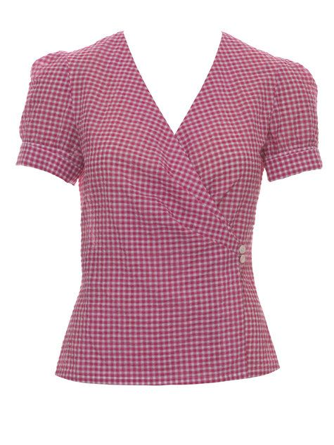 Burda Wrapped Blouse 04/2013 - Super cute with a slight retro look. Surplice necklines are flattering, but I cannot emphasize it enough: fit, fit, fit, FIT this pattern properly so that you will not have issues with gaps and pulling.