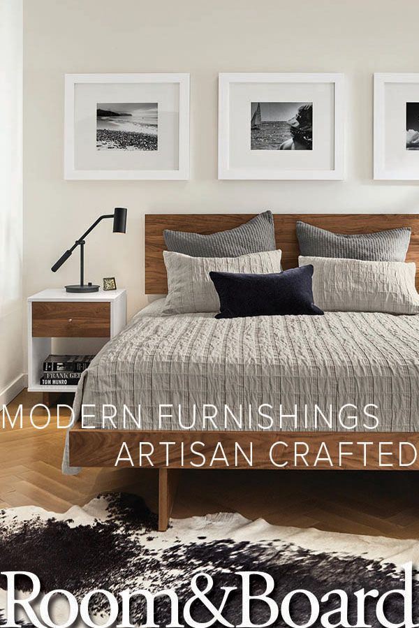 Create The Modern Bedroom Of Your Dreams With Room Board