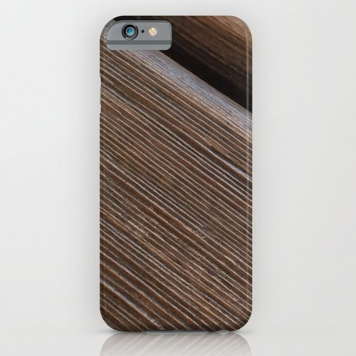 Wooden beams iPhone & iPod Case