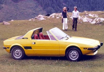 Fiat X19....so small but I loved the targa roof.  Never got to drive one, but still love this car.