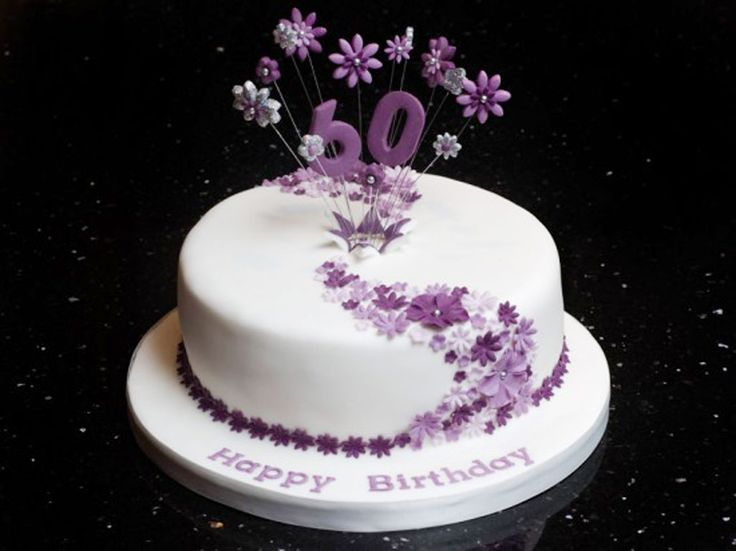 Cake Designs For Birthdays : 1000+ ideas about 60th Birthday Cakes on Pinterest 60 ...