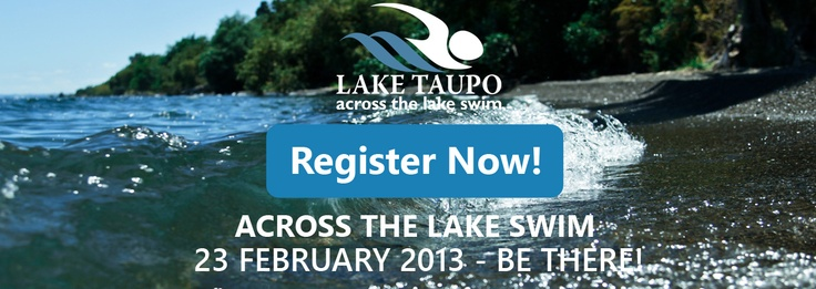Taupo Across the Lake Swim Get your Suit ready!