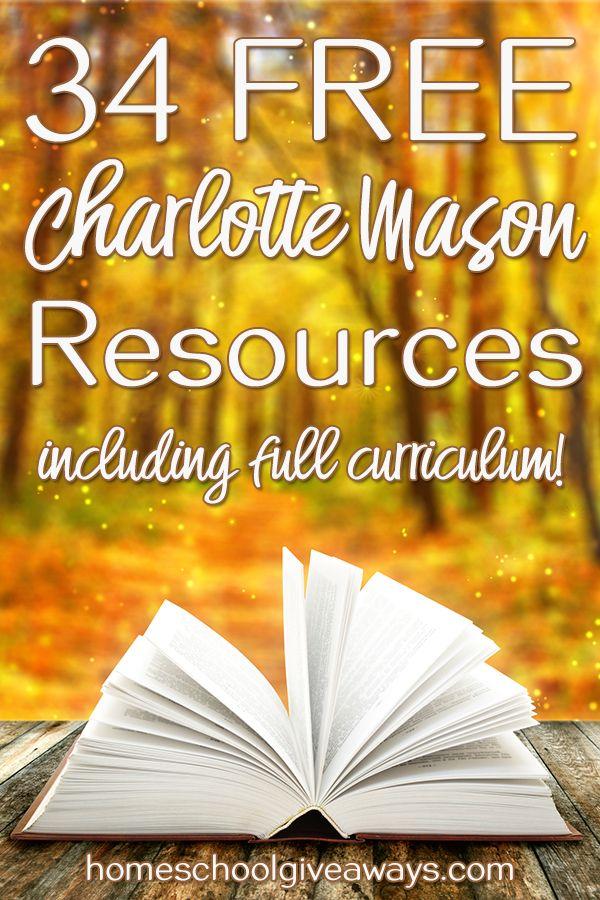 34 FREE Charlotte Mason Curricula and Resources   Homeschool Ninjas ...