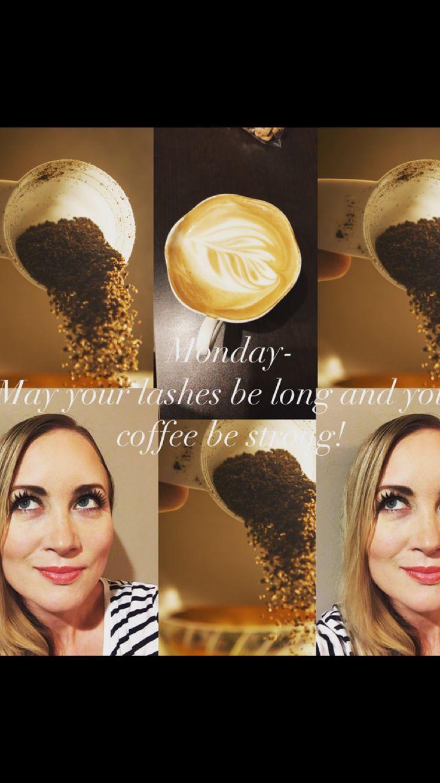 #Younique 3D fiber lash #big lashes #youniquepresenter #coffee #coffeeandmascara #long lashes #falsie lashes  https://www.youniqueproducts.com/SCreekmore/products/landing#.WpxWQSJOmEc