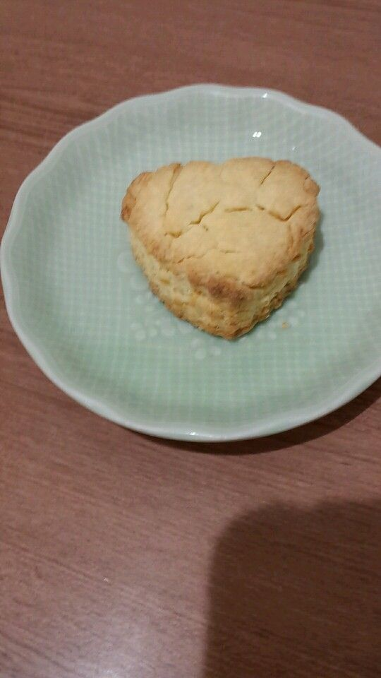 3月4日。おやつは、レモンクッキーでした!137カロリー、たんぱく質1gです♪