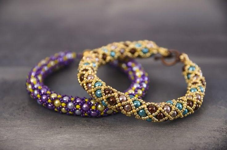 Kreatívny kurz Šité šperky náramok