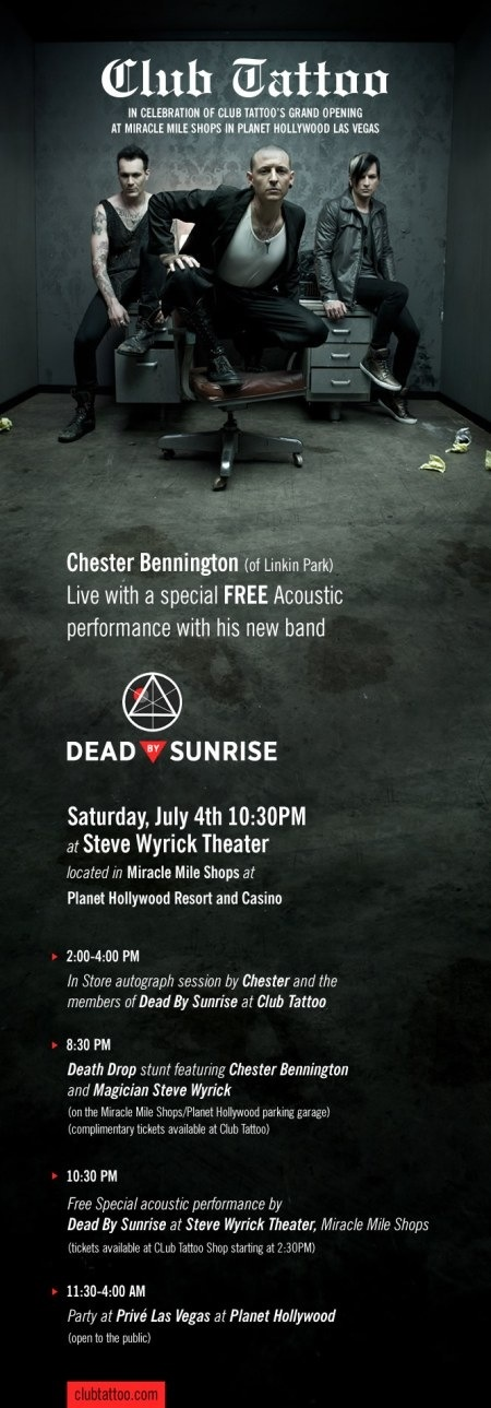 Dead by Sunrise - Chester Bennington