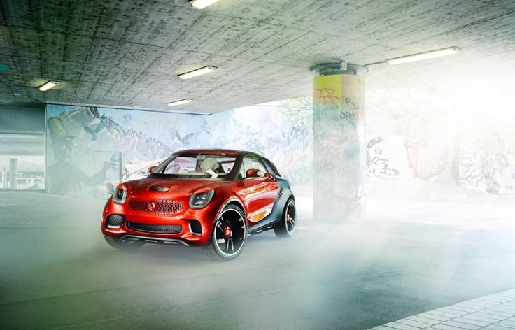 concept vehicle #smart forstars #mbhess #smartconcept