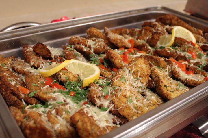 Chicken parmesan from our italian pasta buffet menu www for Italian buffet