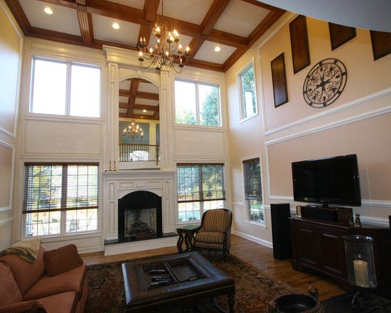 Fabulous Arts And Crafts Fireplace Mantels To Decorate Your Living Room High Ceiling