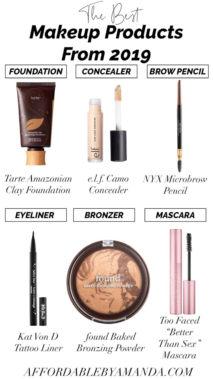 Affordable by Amanda Favorite Makeup Products From 2019