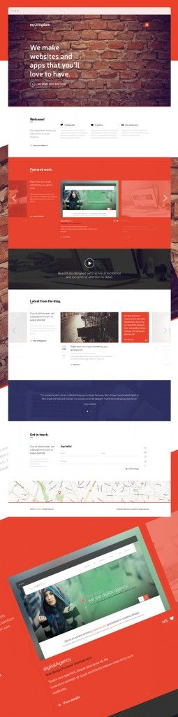 Free PSD Template my.kingdom. http://bestfreebi.es/free-psd-template-my-kingdom/