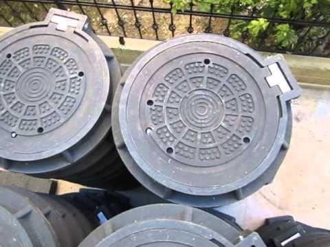 F14TB Gebze Georgia composite manhole covers Manufacturers 0090 5398920770 - YouTube