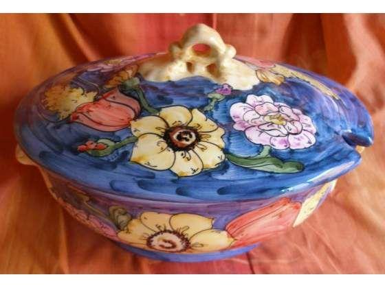 Zuppiera in ceramica di Vietri sul Mare,... a Vietri sul Mare  The beauties of Italy: VIETRI ...