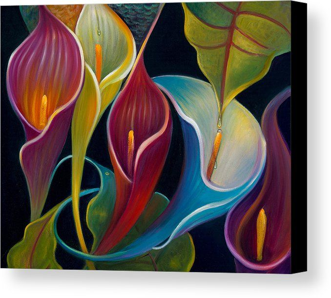Flower Canvas Print featuring the photograph First Flight 2 by Claudia Goodell