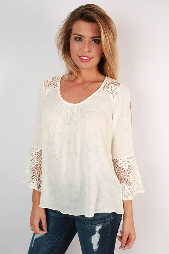 Lightweight blouses are a must have for your summer wardrobe and we're in love with this retro inspired cutie!