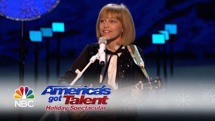 """Grace VanderWaal: AGT Winner Sings """"Frosty The Snowman"""" - America's Got Talent 2016 - YouTube"""