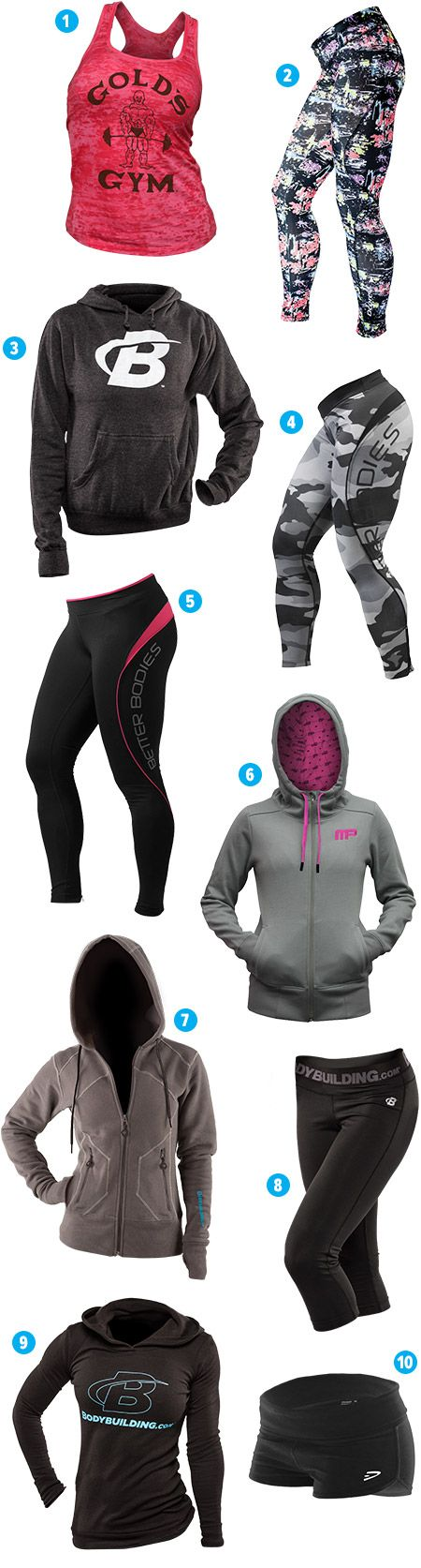 Best Workout Clothes For Women - 2014 Holiday Fit Gift Guide