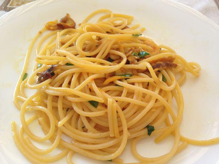 spaghetti agli ovuli