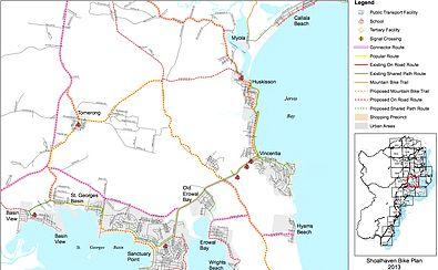 Jervis Bay Bike Hire cycle paths JervisBay Huskisson Vincentia Hyams Beach Booderee National Park bush tracksbotanical gardens