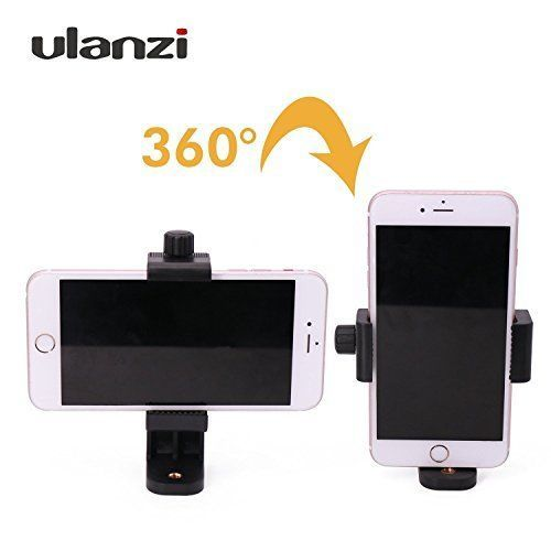 Universal Smartphone Tripod Adapter Cell Phone Holder Mount For Samsung iPhone #Ulanzi